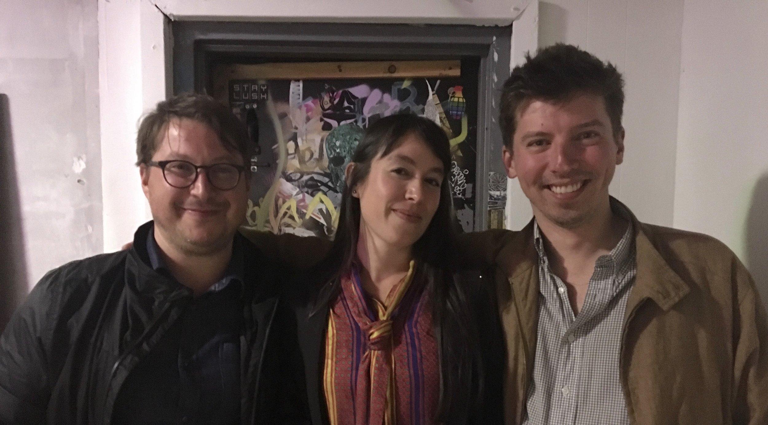 Zach Seeger, Lauren Comito, Evan Reehl Ryer
