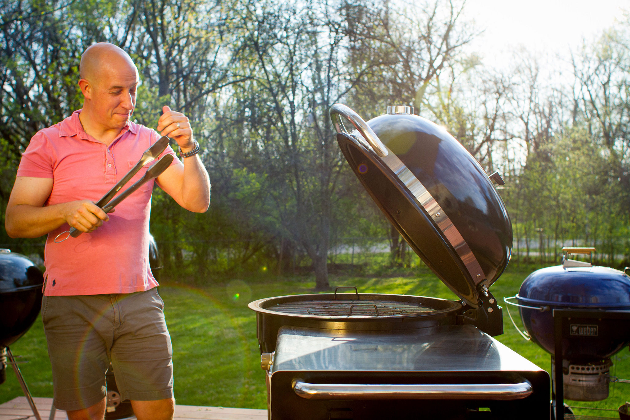 Mike at the Grill.jpg