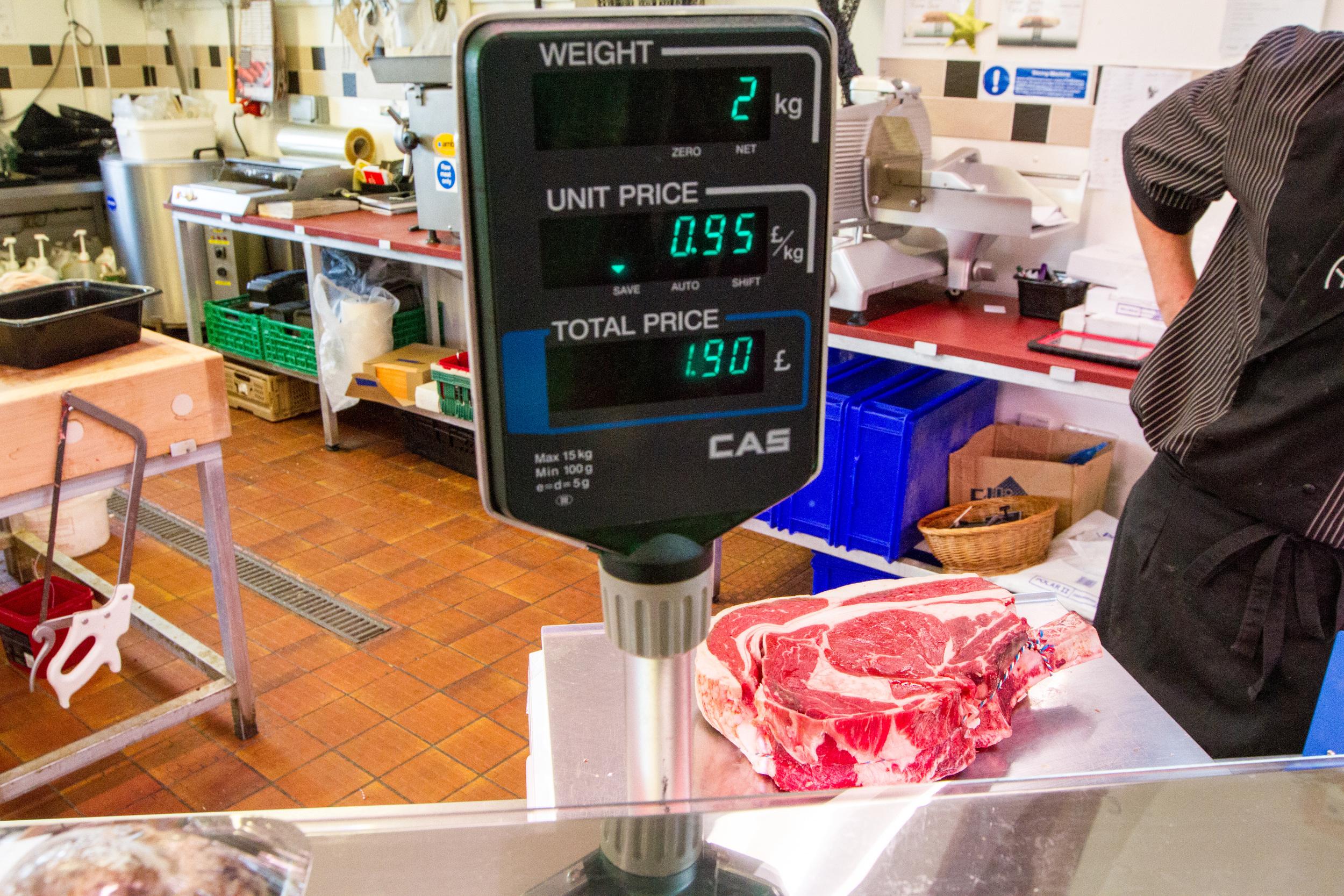 Weighing Meat at Farmer Jacks.jpg