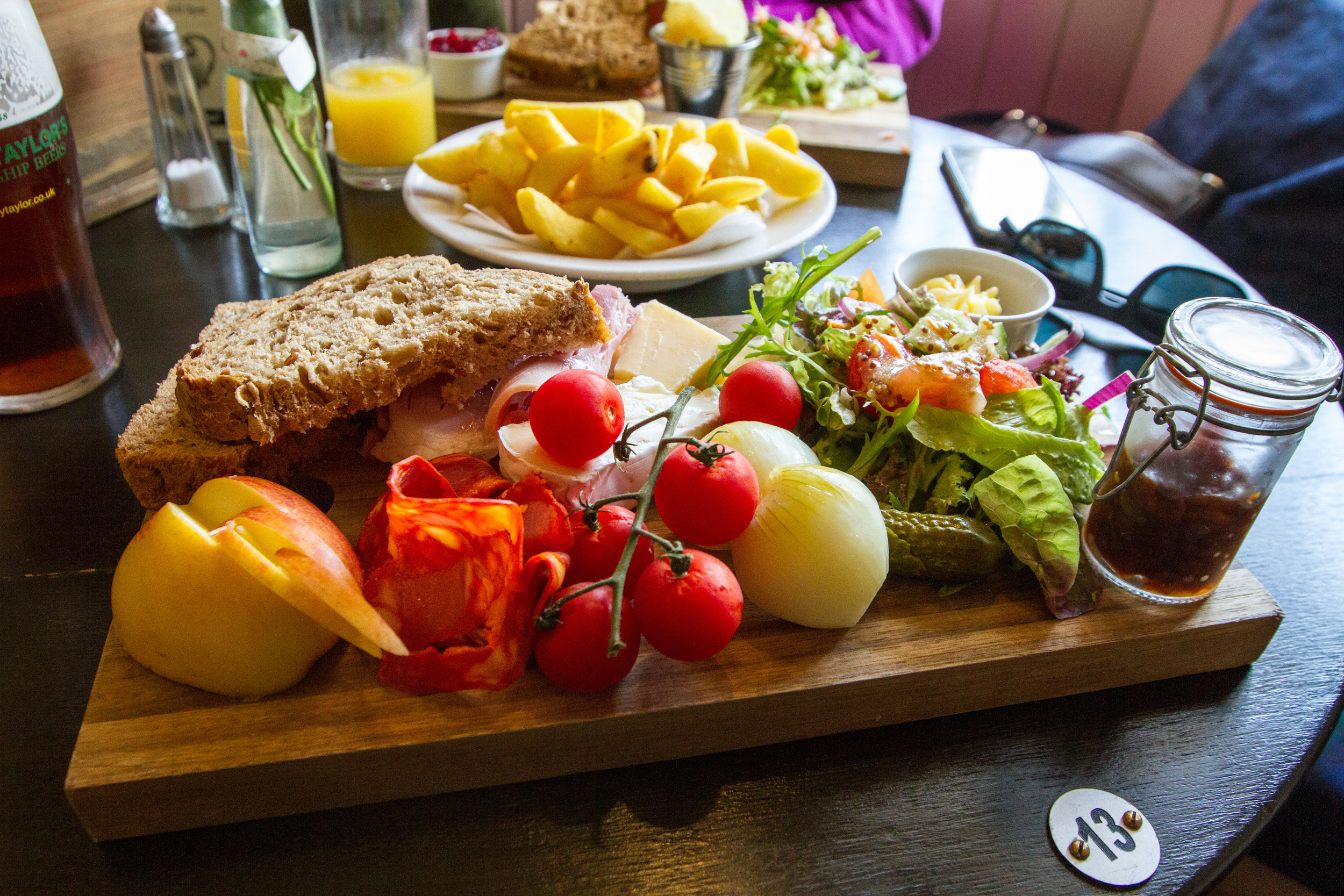 Ploughmans at the Bugle.jpg