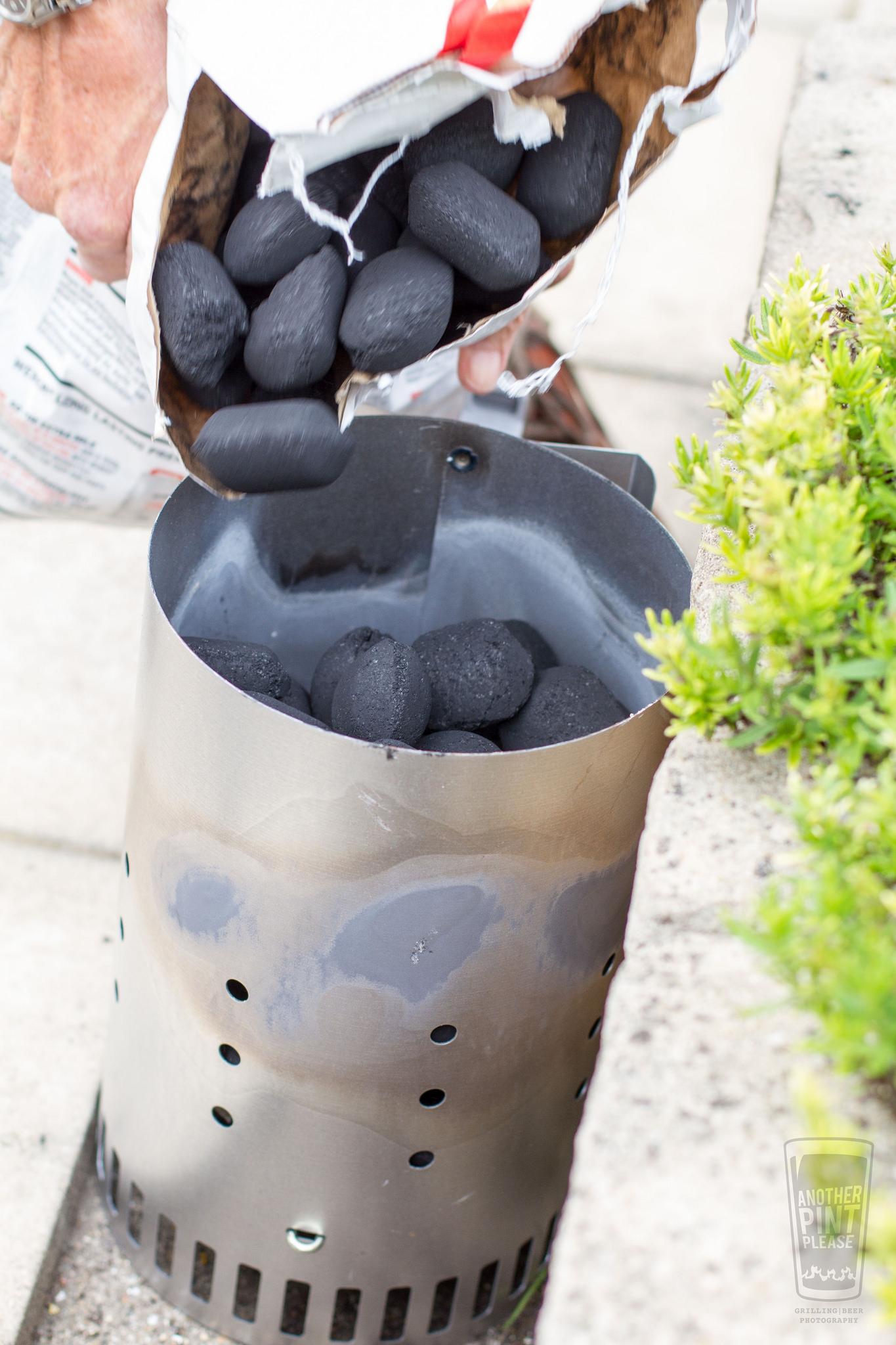briquettes into chimney starter.jpg