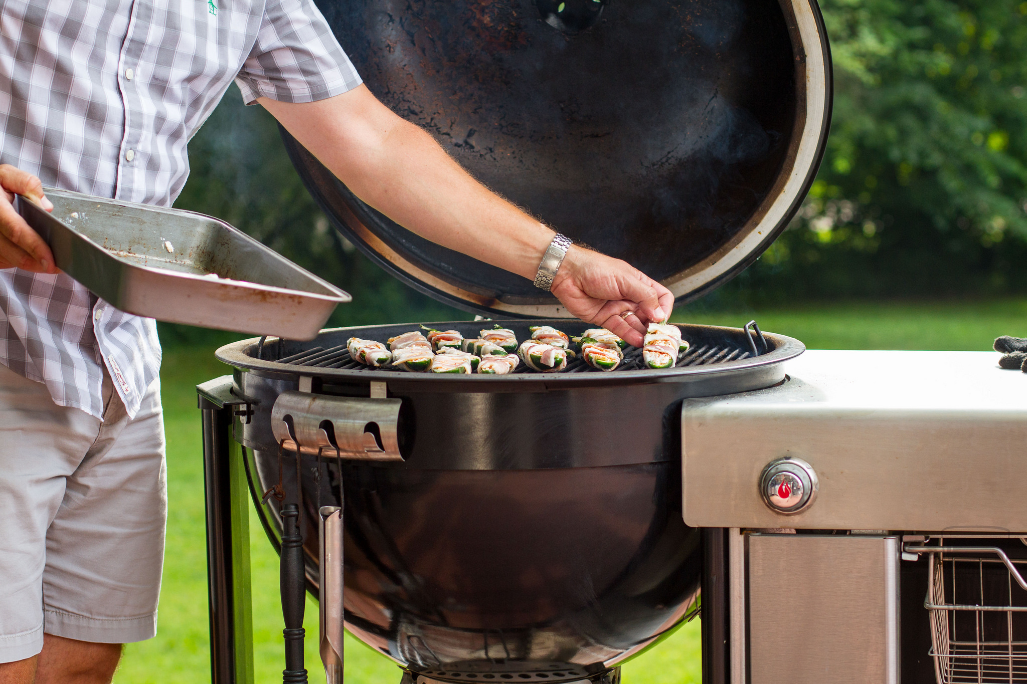 placing poppers on weber summit charcoal grill.jpghttps://www.flickr.com/photos/anotherpintplease/28540243511