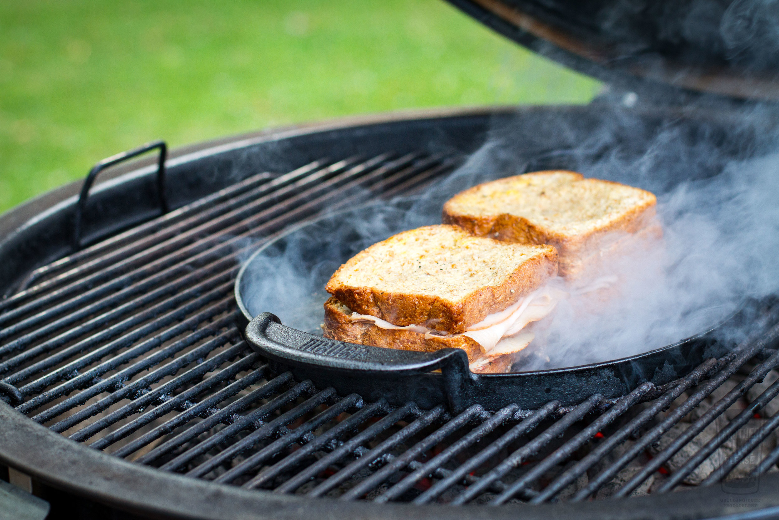 grilled monte cristo on Weber summit charcoal grill.jpg