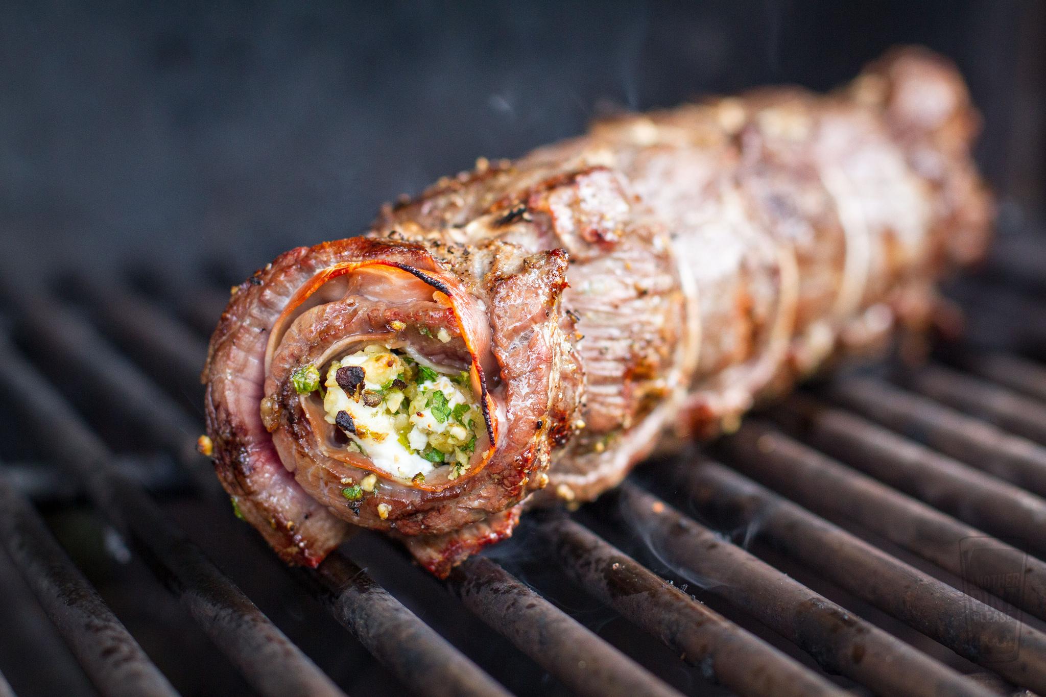 grilled flank steak on weber summit grill.jpg