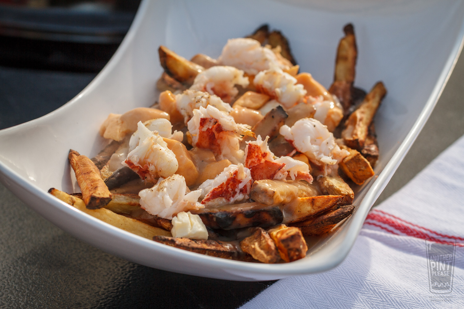 Grilled Lobster Poutine