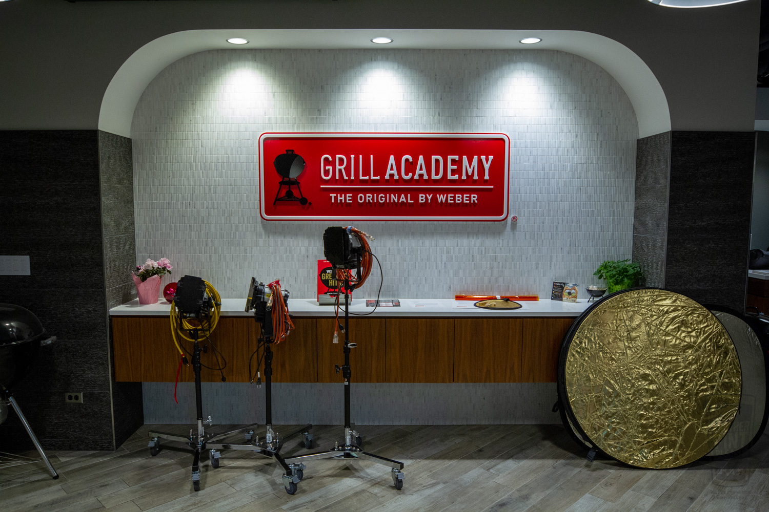 Photography in Weber's Grill Academy