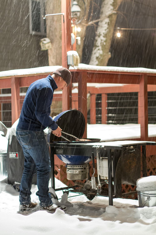 Snow Grilling