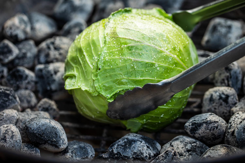 Cabbage in Coals