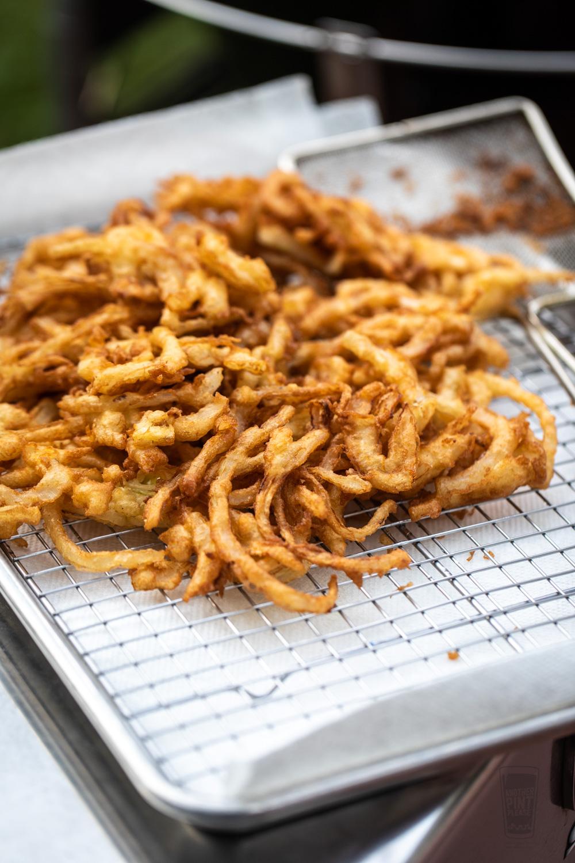 Crispy Onion Fries