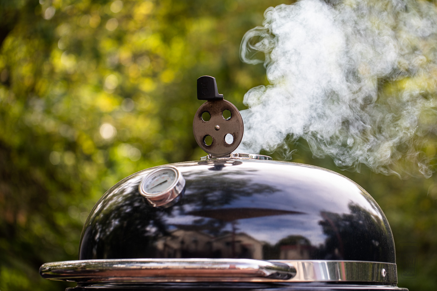 Smoke on the Weber Summit Charcoal Grill