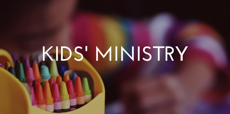Kids' Ministry || Nursery to Grade 5