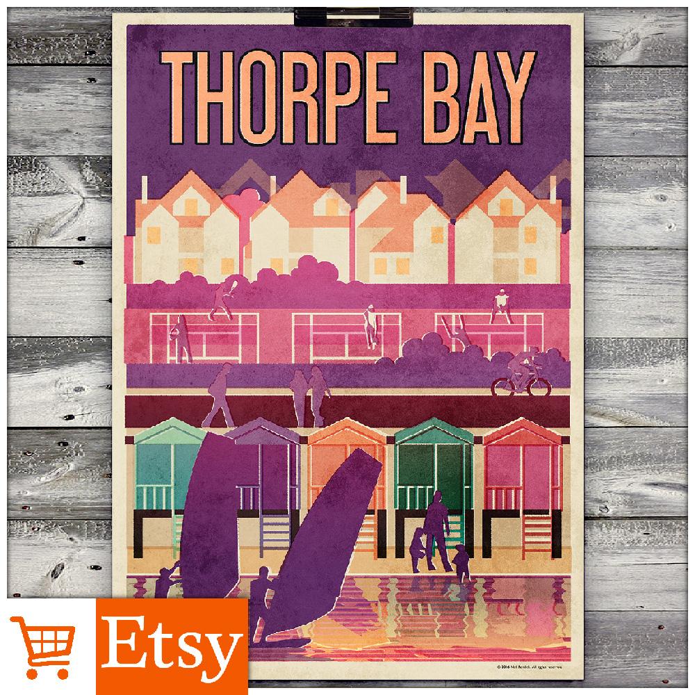 Thorpe Bay A2 Poster