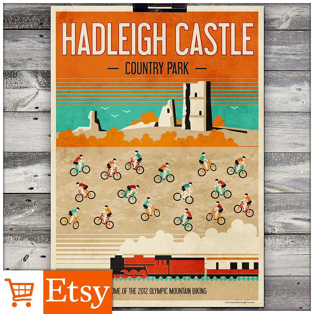 Haleigh Castle - Country Park A2 & A4 Posters