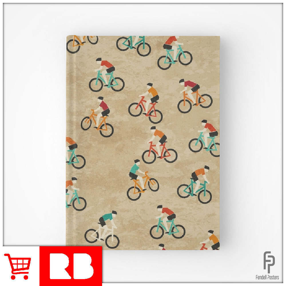 Mountain Biking - Hardcover Journal