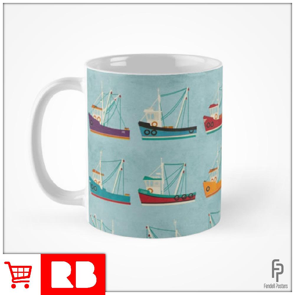 Fishing Trawlers - Mug