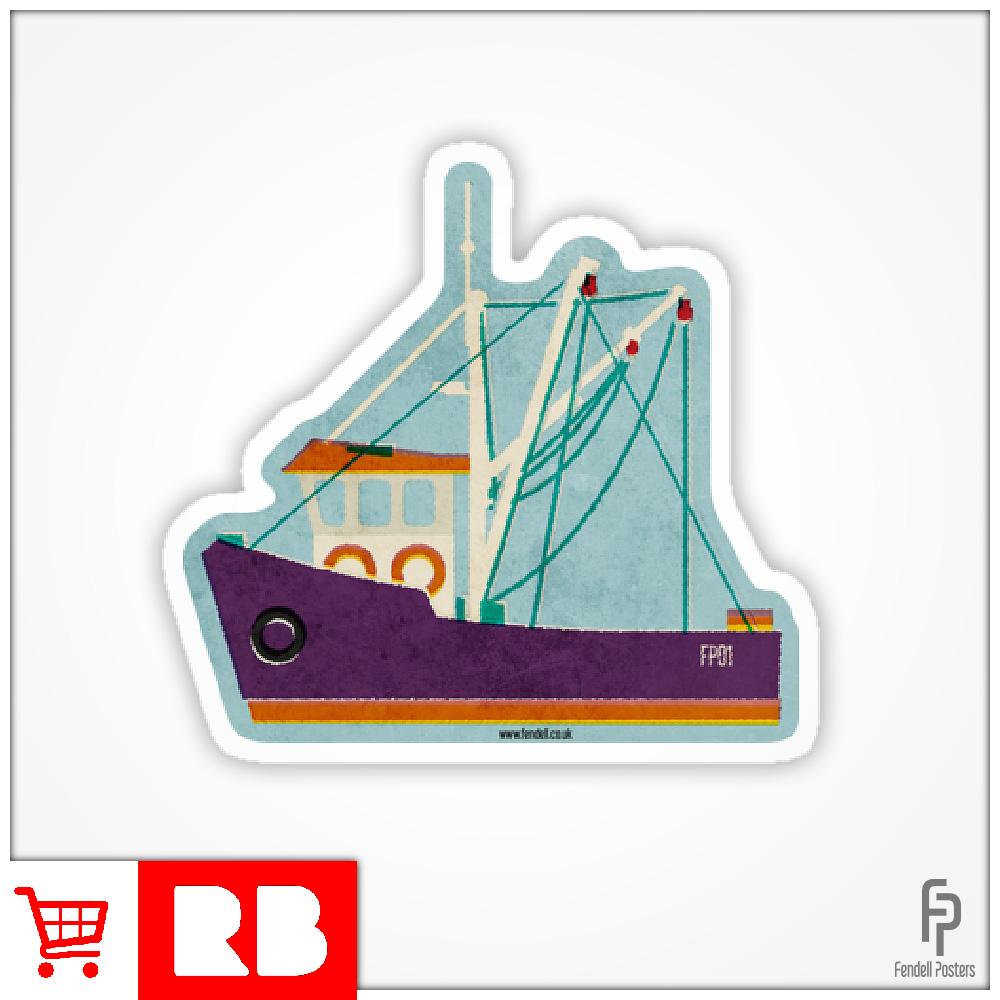 Fishing Trawler - Sticker