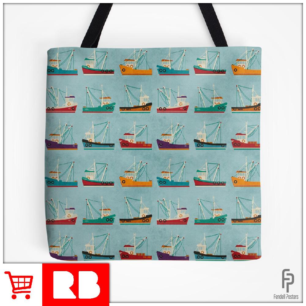 Fishing Trawlers - Tote Bag