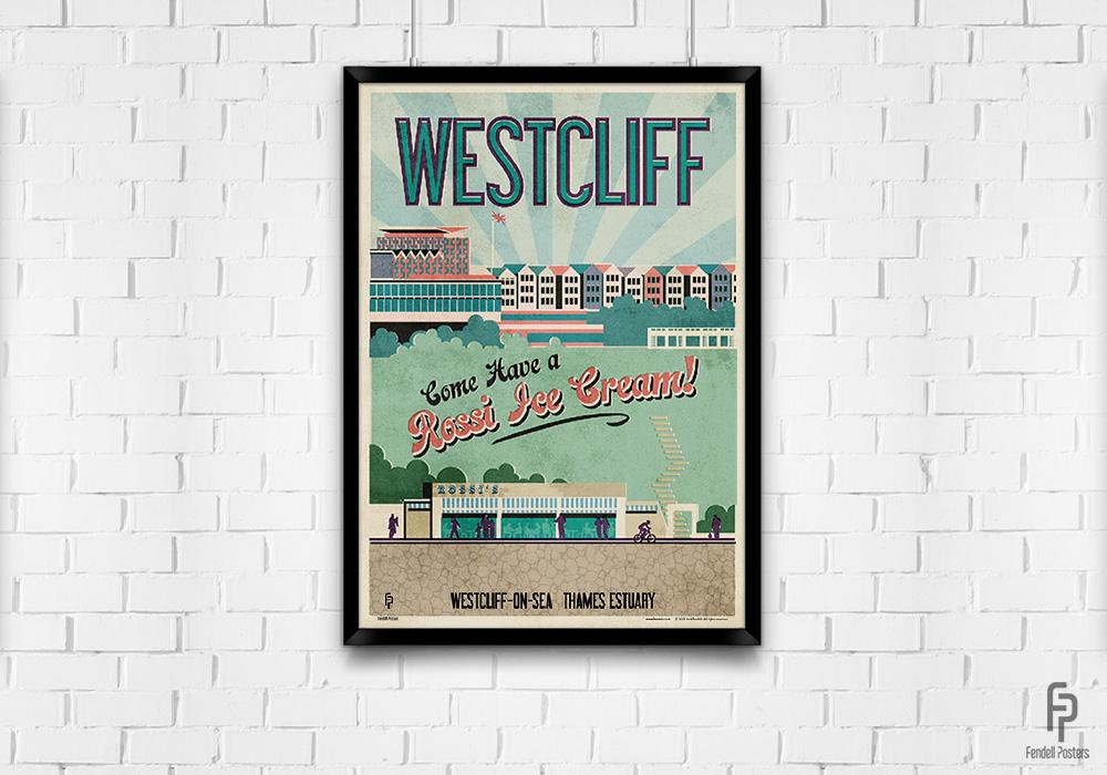 Westcliff - A2 Framed