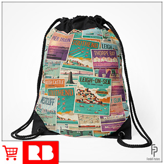 Poster Collection - Drawstring Bag