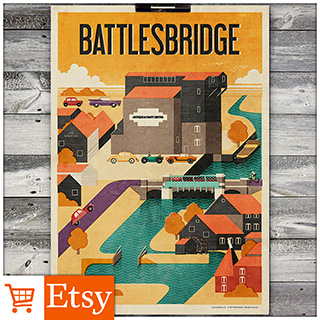 Battlesbridge - A4 & A2 Posters