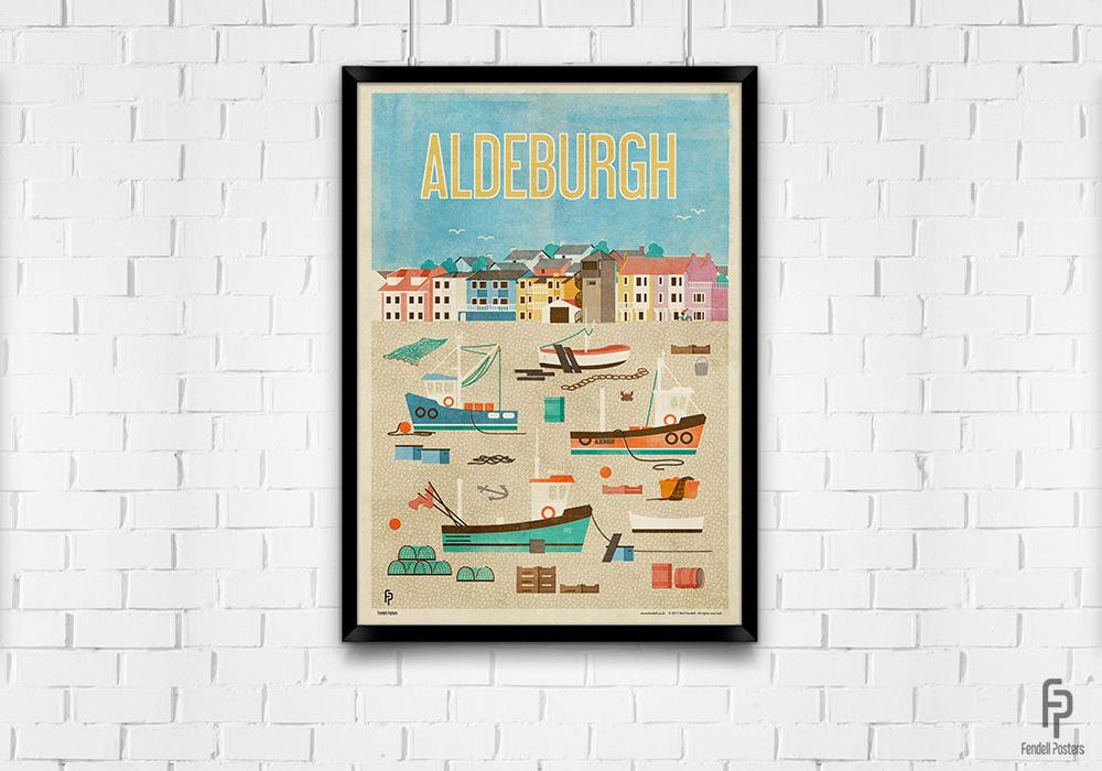 Aldeburgh A2 Framed Poster