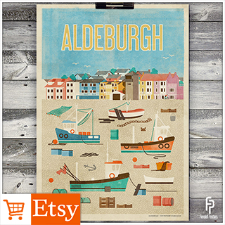 Aldeburgh - A2 & A4 Posters