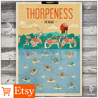 Thorpeness - A2 & A4 Posters