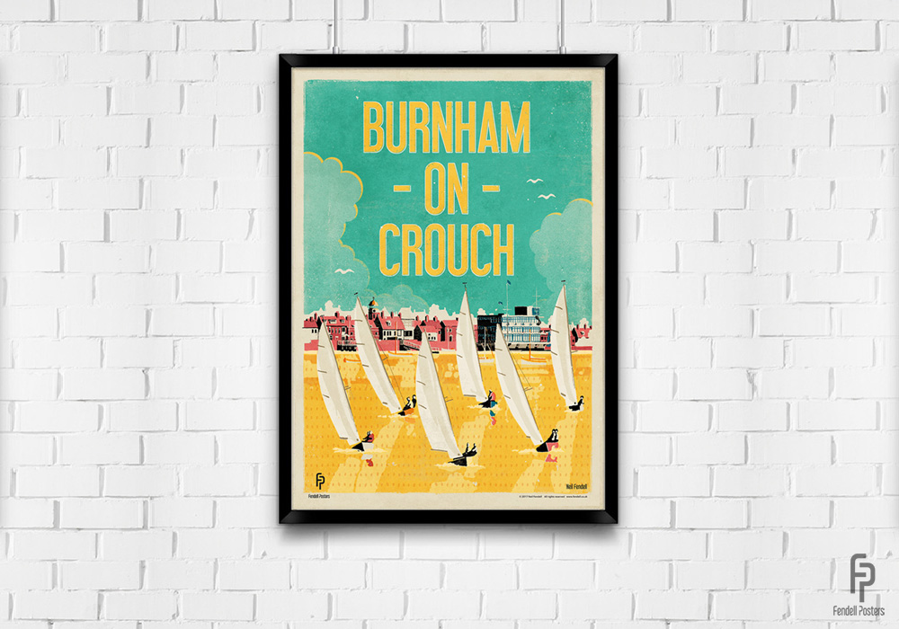 Burnham-on-Crouch A2 Framed Poster
