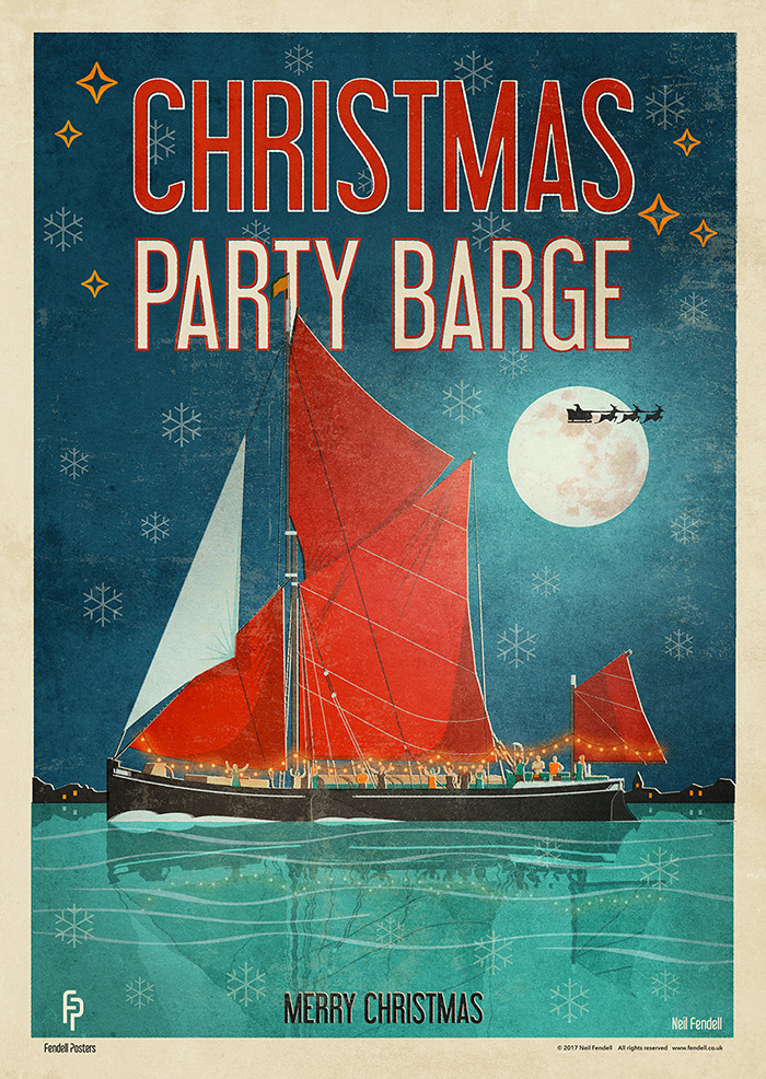 Christmas Party Barge Poster.jpg