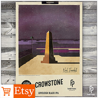 Leigh-on-Sea Brewery - Crowstone A2 & A4 Posters