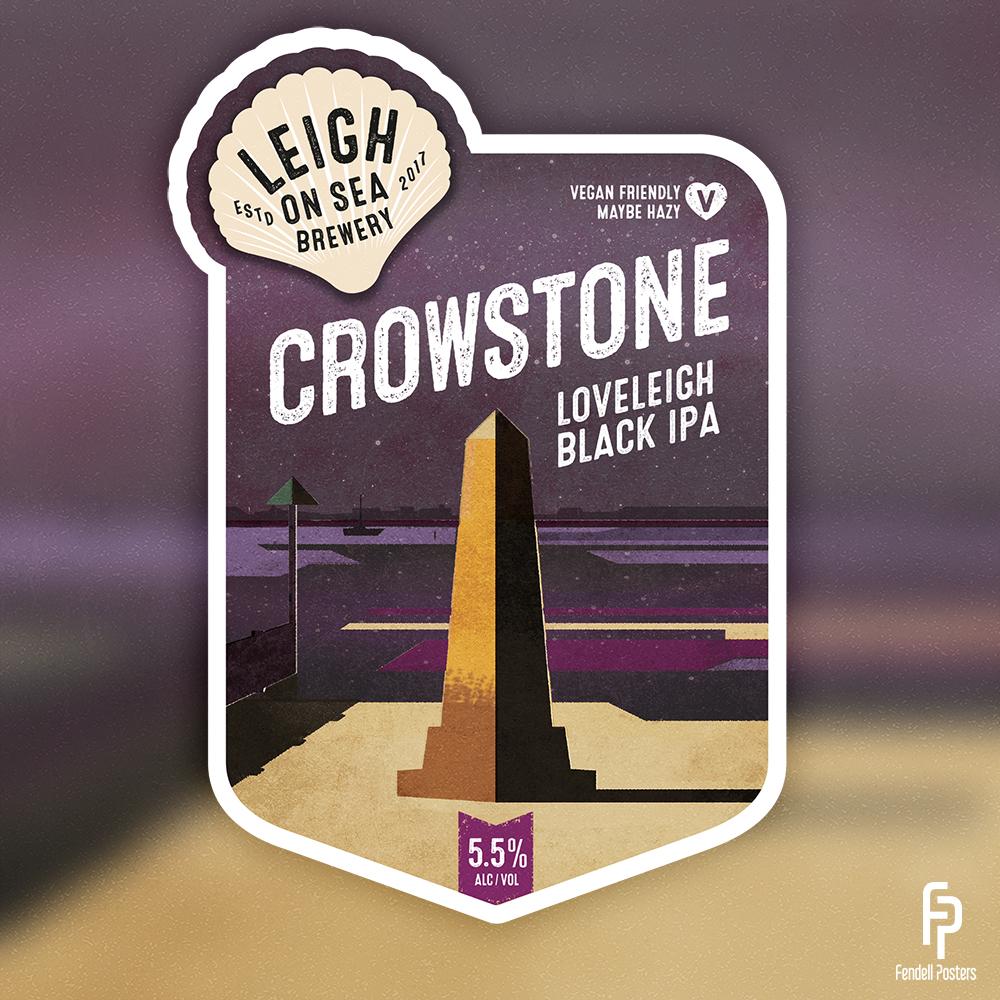 Leigh-on-Sea Brewery - Crowstone Pump Clip.jpg