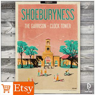 Shoeburyness A4 & A2 Posters