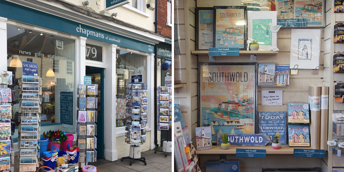 Fendell Posters at Chapmans of Southwold