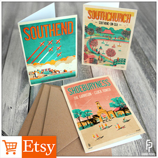 Southchurch & Southend Greetings Cards