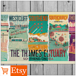 The Thames Estuary Special Edition Poster