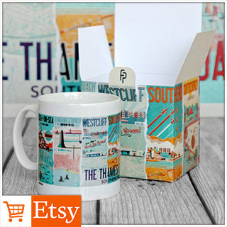 The Thames Estuary Mug & Gift Box