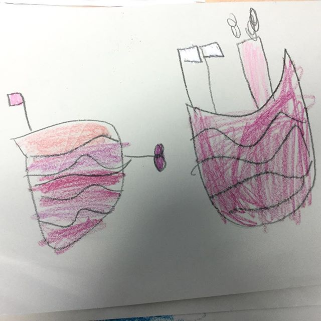 A few more pictures from my recent trip to West Leigh Infant School. We started with practicing different ways you could draw a boat. We refined our designs, then I encouraged everyone to injected a little personality... the results were truly brilliant. Well done to all the Children who took part. #westleighschool #kidsart #fendellposters