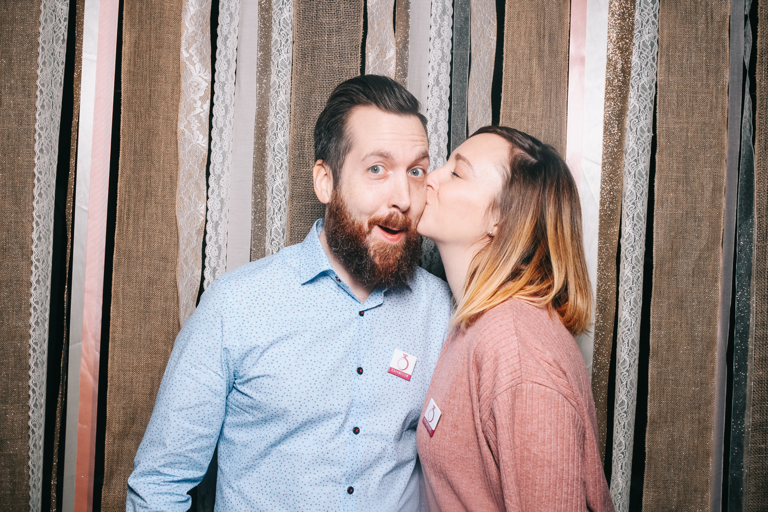 Wedding experience photo booth