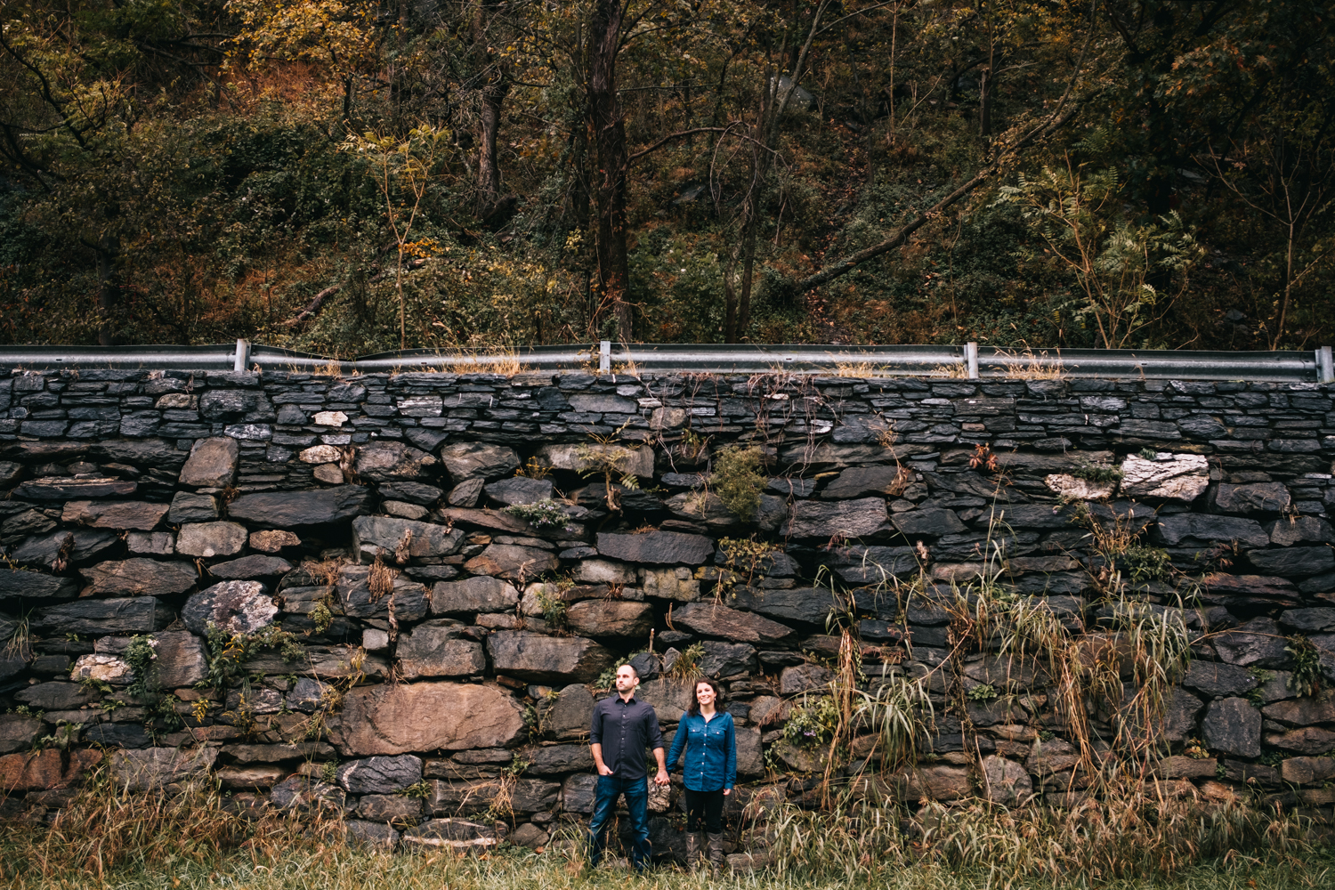 harpers ferry stone wall engagement picture