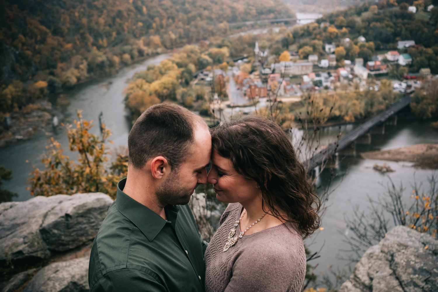 maryland heights engagement we live to explore