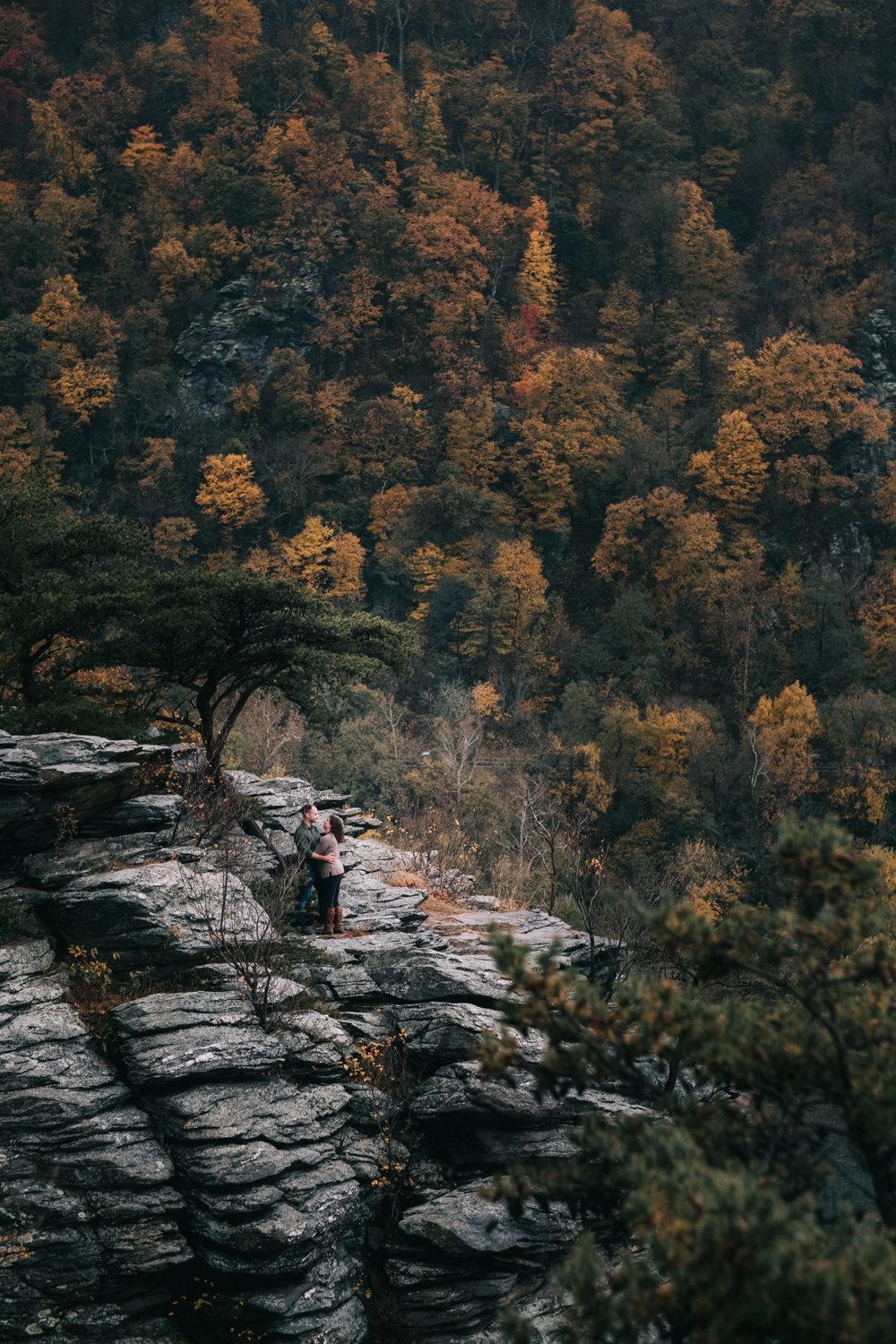 harpers ferry hiking mountain engagement session-23.jpg