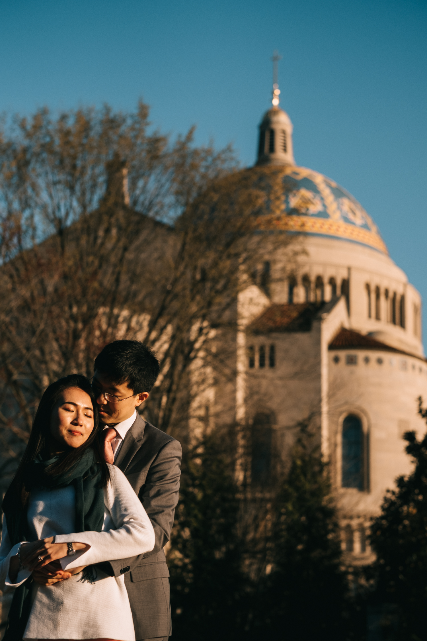 National Shrine Engagement Photos