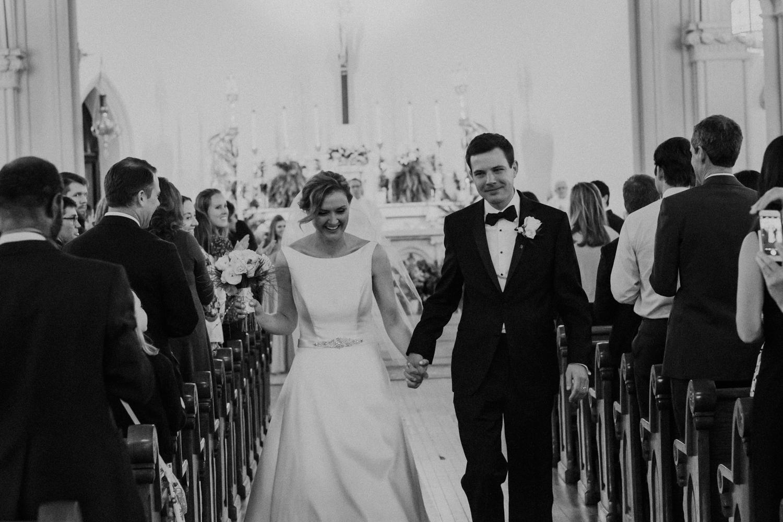 St Joseph Washington DC Bride and Groom Wedding