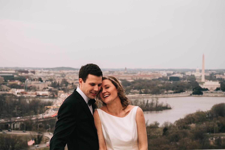 Top of the Town Arlington Wedding Venue Portraits