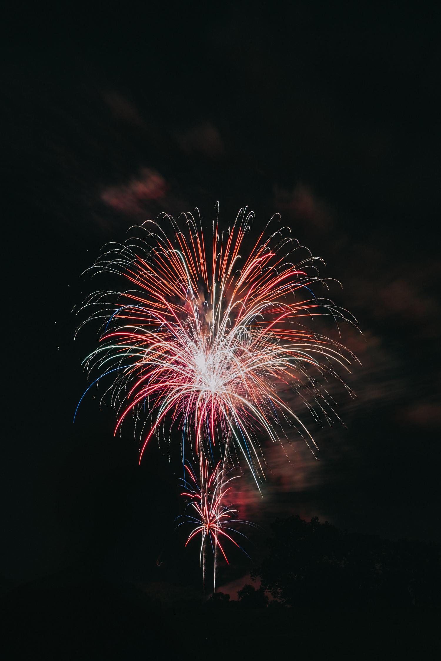 Ida Lee Park Fireworks