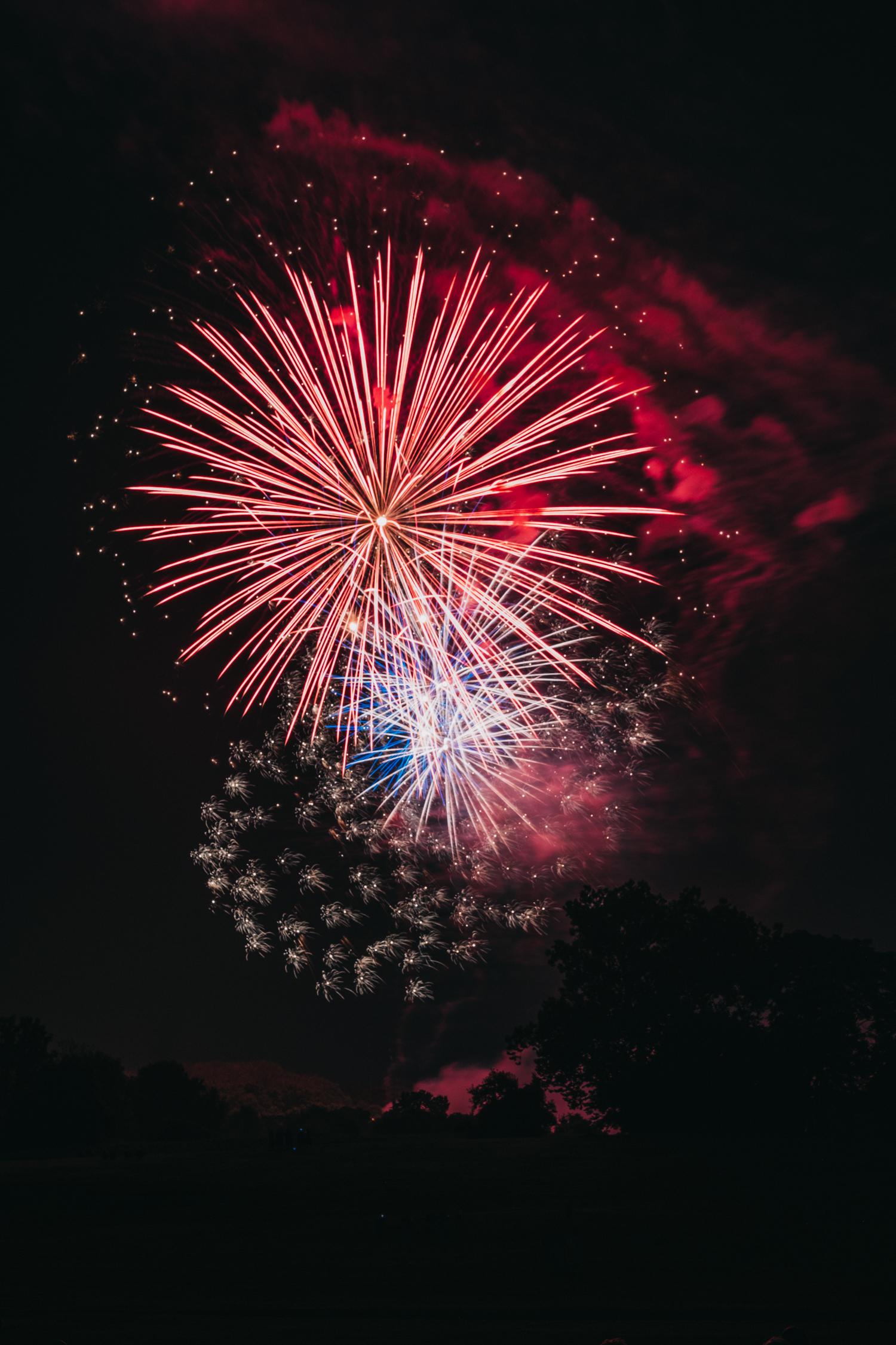 Leesburg Virginia Fireworks Fourth of July