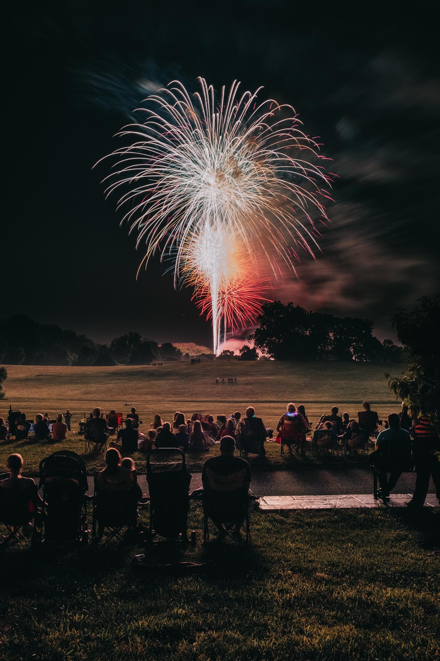 Leesburg Ida Lee Fourth of July Fireworks 2018