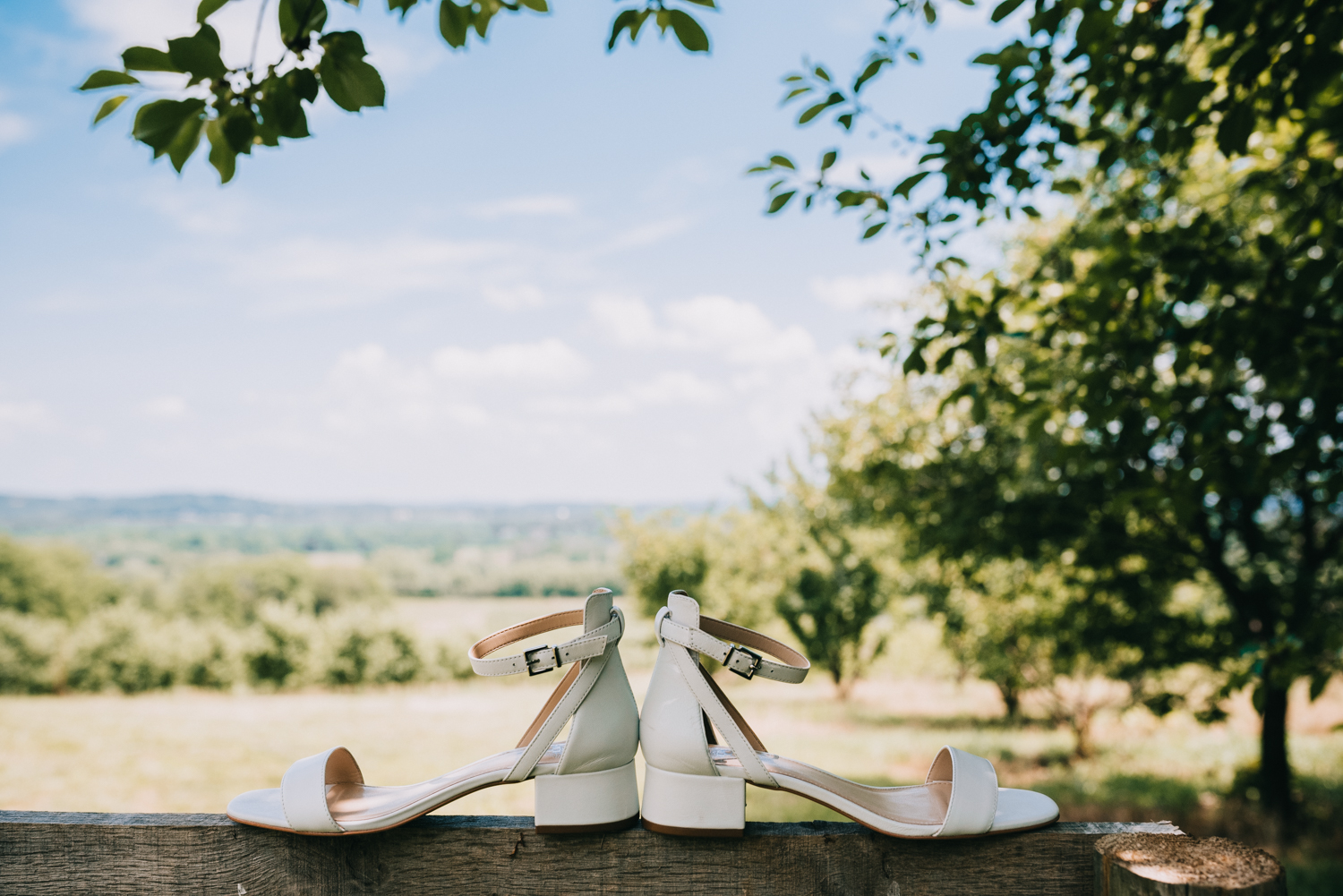 Bluemont Virginia wedding shoes detail inspiration