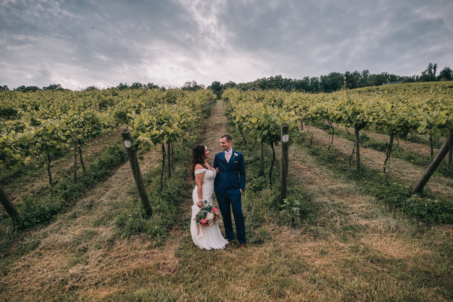 wedding portraits at bluemont vineyard virginia loudoun county