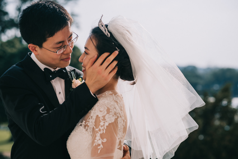 dc chinese wedding portraits jefferson memorial